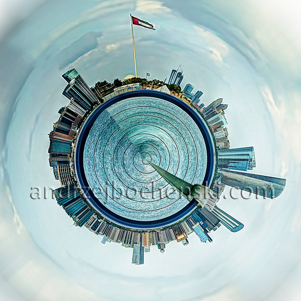 Abu Dhabi planet
