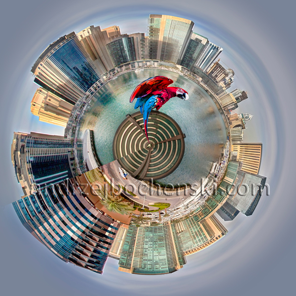 Dubai Marina planet