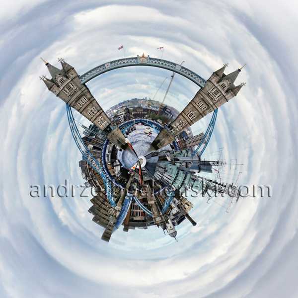 London Tower Bridge planet
